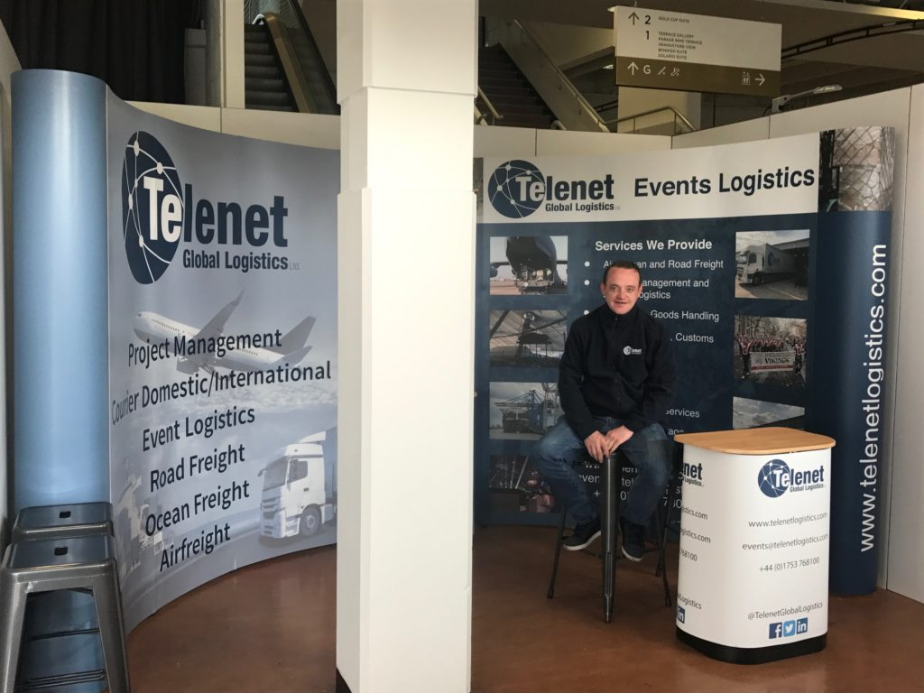 Telenet exhibition stand